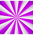 Violet and white abstract rays circle vector image vector image