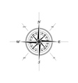 marine compass vector image