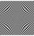 Abstract Black - White Geometric Background vector image
