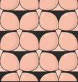 ass seamless pattern fanny in thong pattern vector image vector image