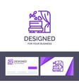 creative business card and logo template arch