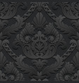 Dark vintage background vector image vector image