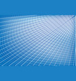 futuristic abstract blue background vector image