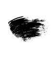 Grunge brush texture smear vector image