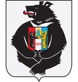 Khabarovsk Coat-of-Arms vector image