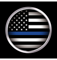 Law Enforcement Support Emblem and Icon vector image vector image