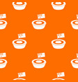 little flag pattern seamless vector image vector image