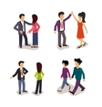 Ordinary People Everyday Actions vector image