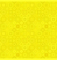 yellow seamless diagonal square pattern - tile vector image vector image