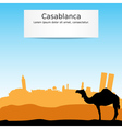 Casablanca vector image