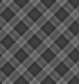 gray fabric pattern vector image