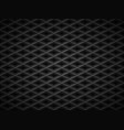 black embossed pattern plastic grid vector image