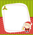 christmas and new year greeting card christmas vector image