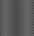 Chrome cell seamless background vector image vector image