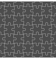 Jigsaw puzzle mosaic seamless background vector image vector image