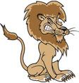 lion logo mascot vector image vector image