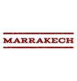 Marrakech Watermark Stamp vector image vector image