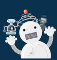 robotics design concept vector image