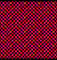 seamless geometrical crimson circle pattern vector image vector image