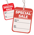 vintage and modern special sale price tag vector image vector image