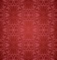 Abstract seamless pattern in red vector image