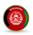 Afghanistan Seal vector image vector image