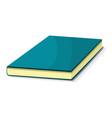 blue book icon cartoon style vector image vector image