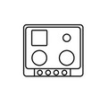 cook top icon vector image