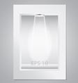 empty display for exhibition vector image