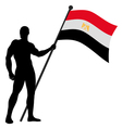Flag Bearer vector image