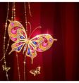 golden butterfly 2 2 4000 VS vector image vector image