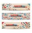 Industrial horizontal banners