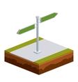 isometrics signal design vector image vector image
