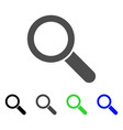 search tool flat icon vector image vector image