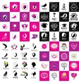 set of logos Beauty vector image vector image
