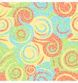 swirl pattern art vector image vector image
