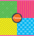 braid weave diagonal lines seamless textures vector image vector image