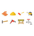building repair icons in set collection for design vector image