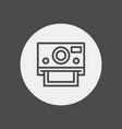 camera icon sign symbol vector image vector image