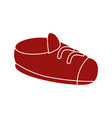 cute boot cartoon vector image