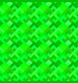green seamless diagonal square pattern - mosaic vector image vector image