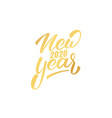 new year 2020 happy new year 2020 hand lettering vector image vector image