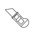 scapel utensil icon vector image vector image