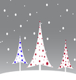 Simple-christmas-card-3 vector image vector image