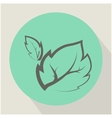 The Leaf Plant Icon vector image