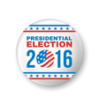 Badge for Presidential Election 2016 vector image