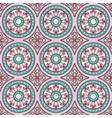 Geometric seamless ornament pattern vector image
