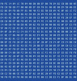 computer blue screen hexadecimal code seamless vector image