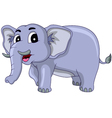 Happy elephant cartoon vector | Price: 1 Credit (USD $1)