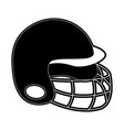 helmet baseball related icon image vector image vector image
